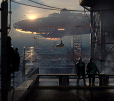 The Science Fiction Art of Aleksandr Nikonov