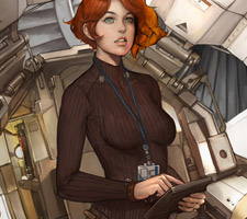 Cool Sci-Fi Illustrations by Namgwon Lee