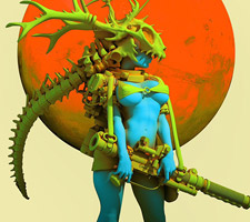 The Magnificent Sci-Fi Art of Pascal Blanche