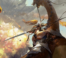 The Fantasy Paintings of Ken Liu