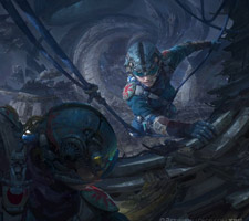 The Superb Digital Fantasy Art of Fenghua Zhong