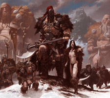 Amazing Fantasy Illustrations by Adrian Smith