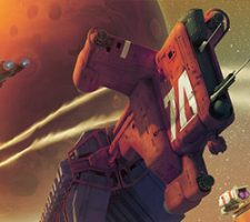 The Science Fiction Art of Isaac Hannaford