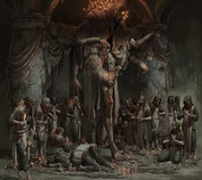 Dark Fantasy Artwork by Timofey Stepanov