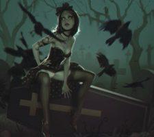 The Dark Fantasy Art of Mihail Glooh