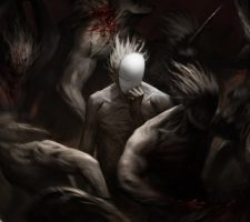 Dark Fantasy Artwork 'Game Over' by Artem Demura