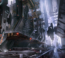 The Futuristic Concept Art of Mike Hill