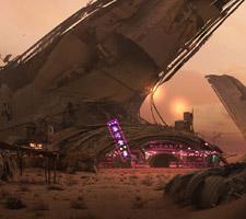 Stunning Sci-Fi Concept Art by Eddie Mendoza
