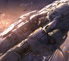 Amazing Spaceship Artwork from Jake Gumbleton