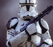 Amazing Clone Trooper 3d Art by Nicolas Brunet