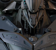 Cool Mech Designs by Christophe Lacaux