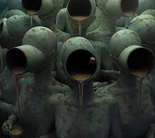 The Dark Surreal Digital Artwork of Andrey Bobir
