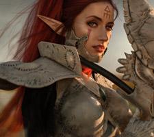 Super Badass Howling Banshee Warhammer Cosplay!