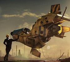 3d Sci-Fi Artwork by Paul H. Paulino
