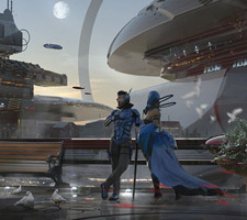 The Science Fiction Art of Wadim Kashin