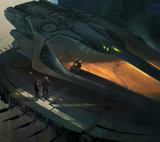 Martin Deschambault - Science Fiction Artist