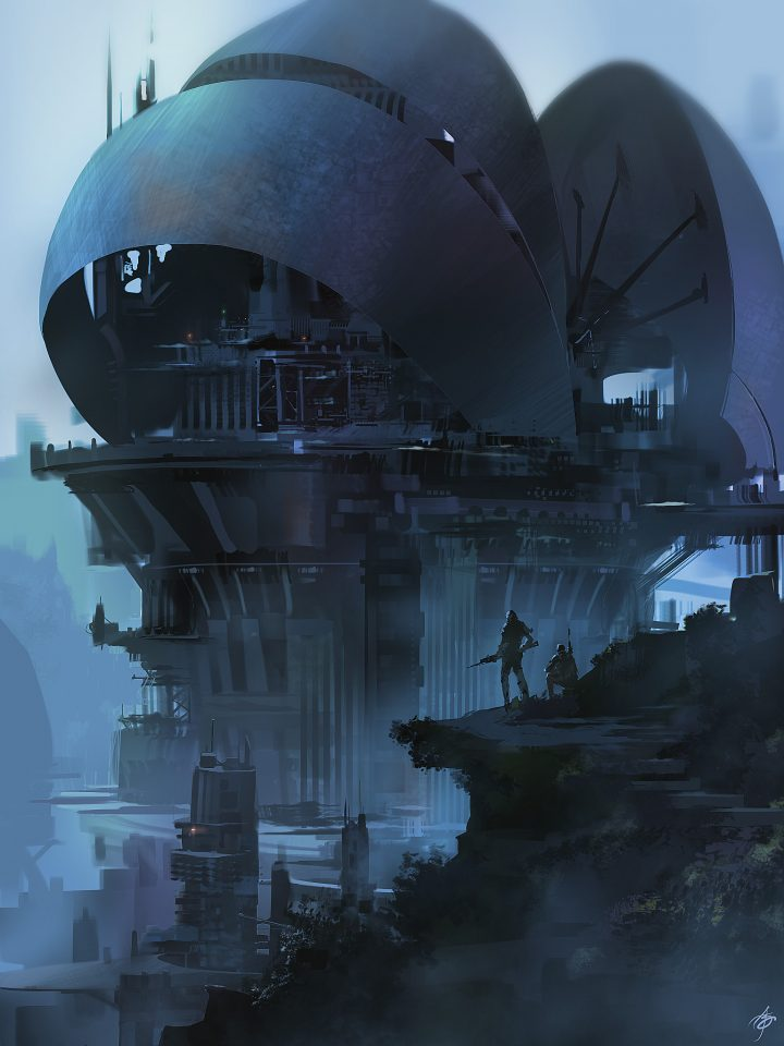 Amazing Science Fiction Artwork by Allen Song