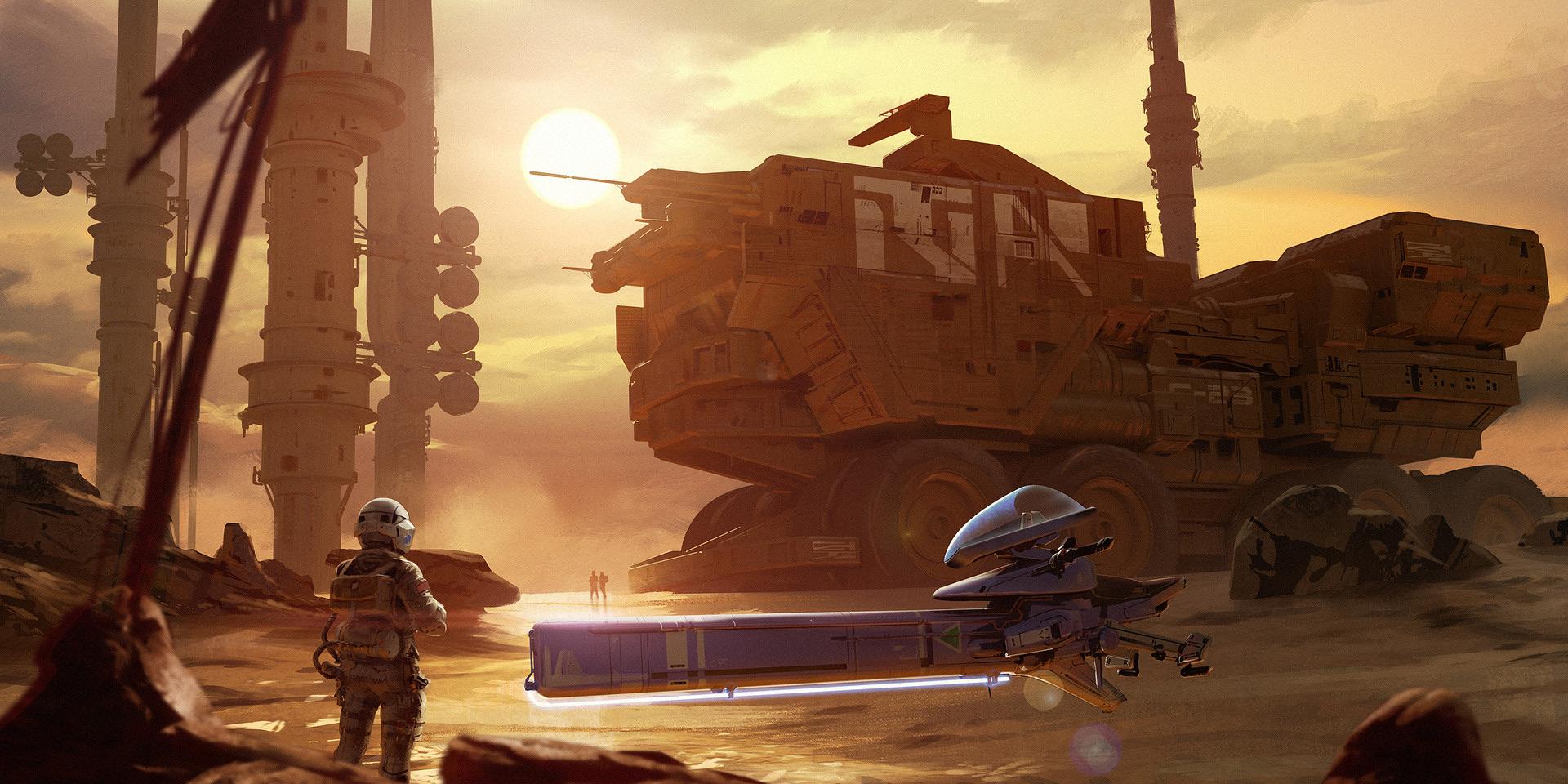 The Incredible Sci-Fi Art of Isaac Hannaford