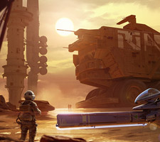 The Stunning Sci-Fi Art of Isaac Hannaford
