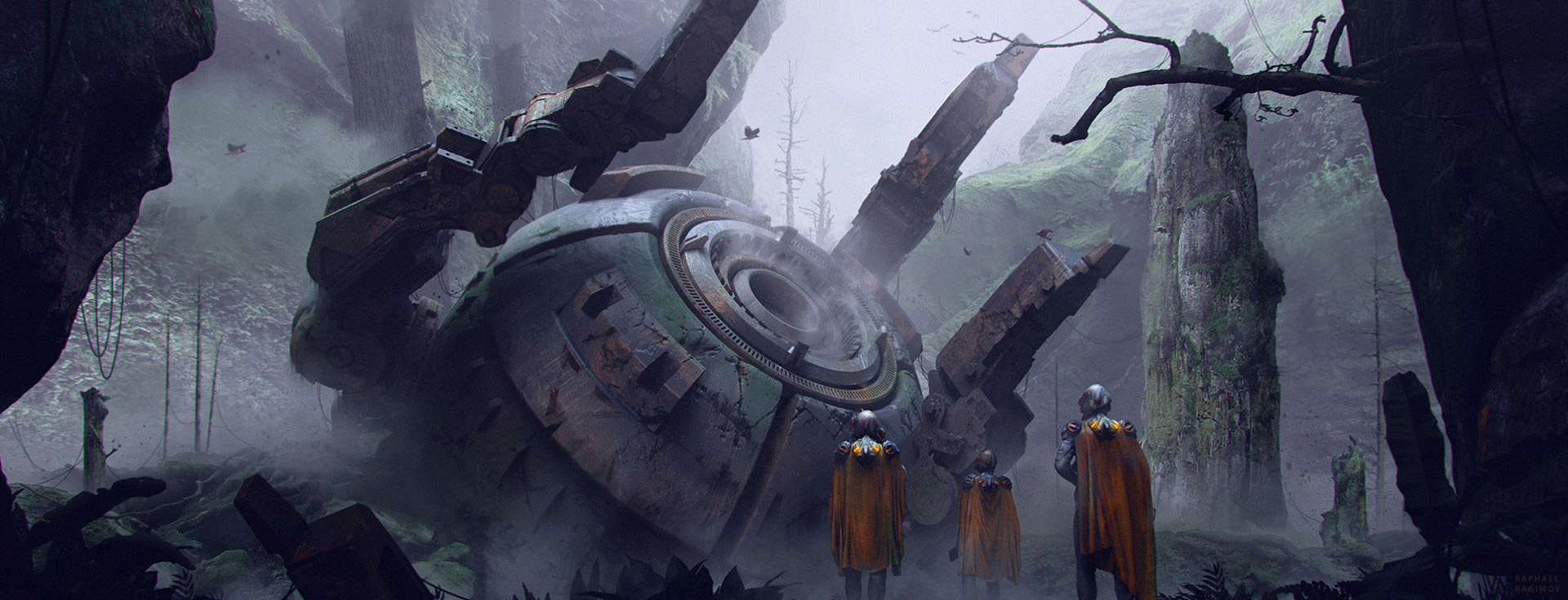The Sci-Fi & Fantasy Art of Raphael Ragimov