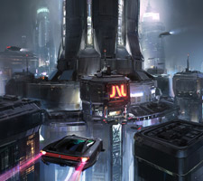The Sci-Fi Art of John Wallin Liberto