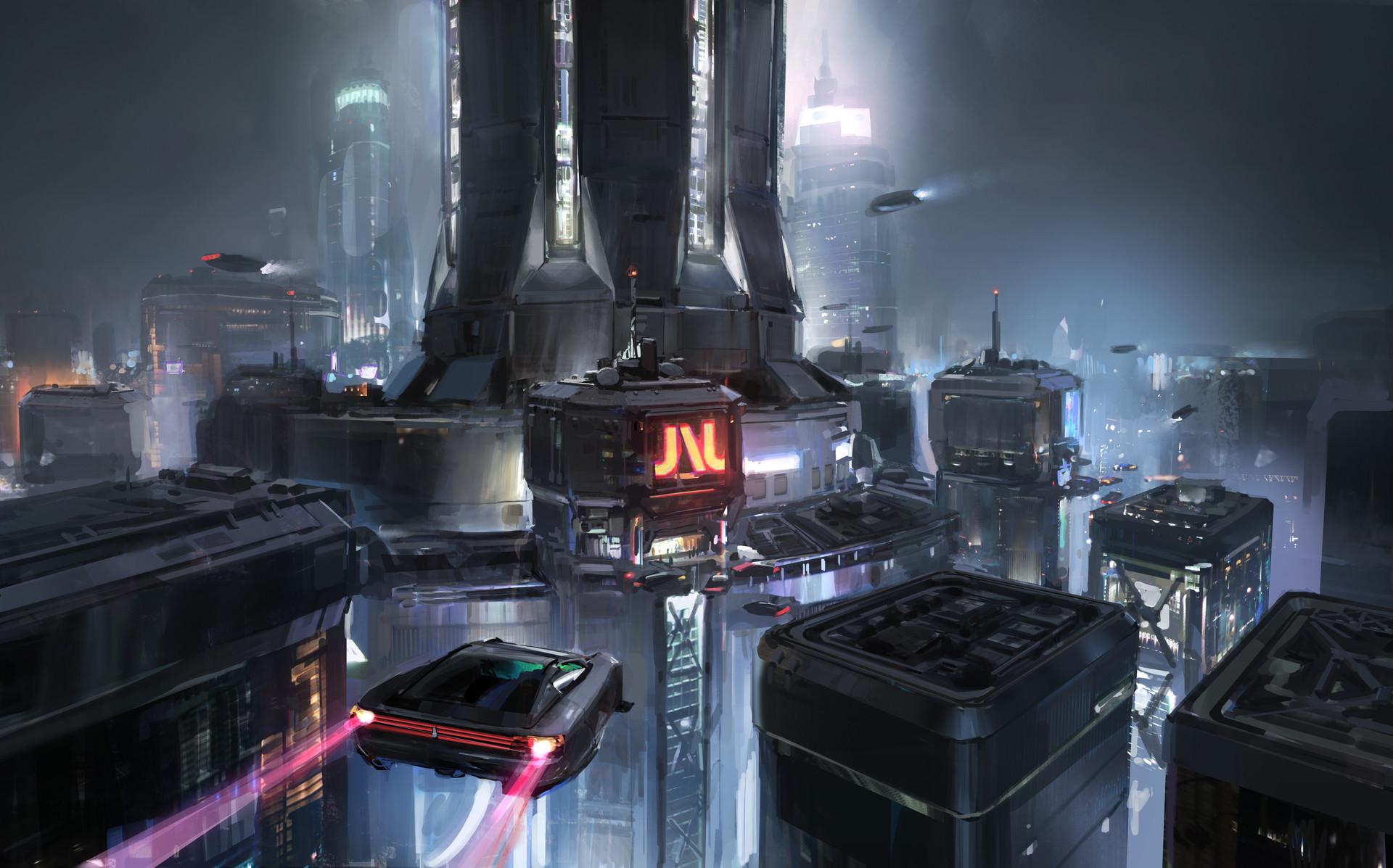 The Sci-Fi Art of John Wallin Liberto