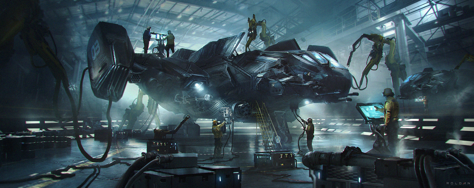 The Sci-Fi Artworks of Juan Pablo Roldan