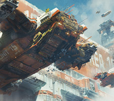 The Sci-Fi & Fantasy Art of Ivan Laliashvili