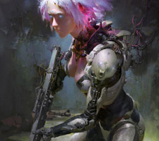 The Glorious Digital Artworks of Ruan Jia