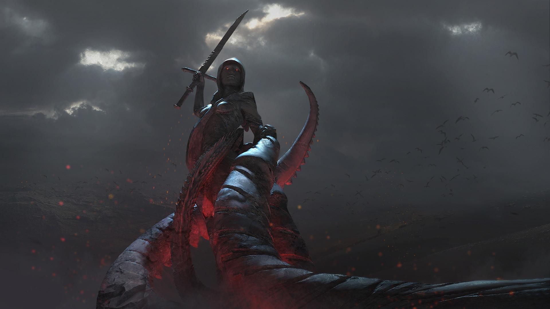 The Sci-Fi & Fantasy Art of Tyler Thull