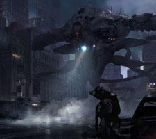 Cool New Sci-Fi Artwork by Huadong Lan