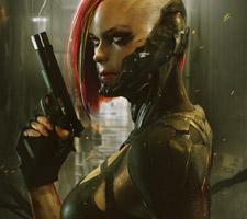The Cyber Punk Art of Soufiane Idrassi