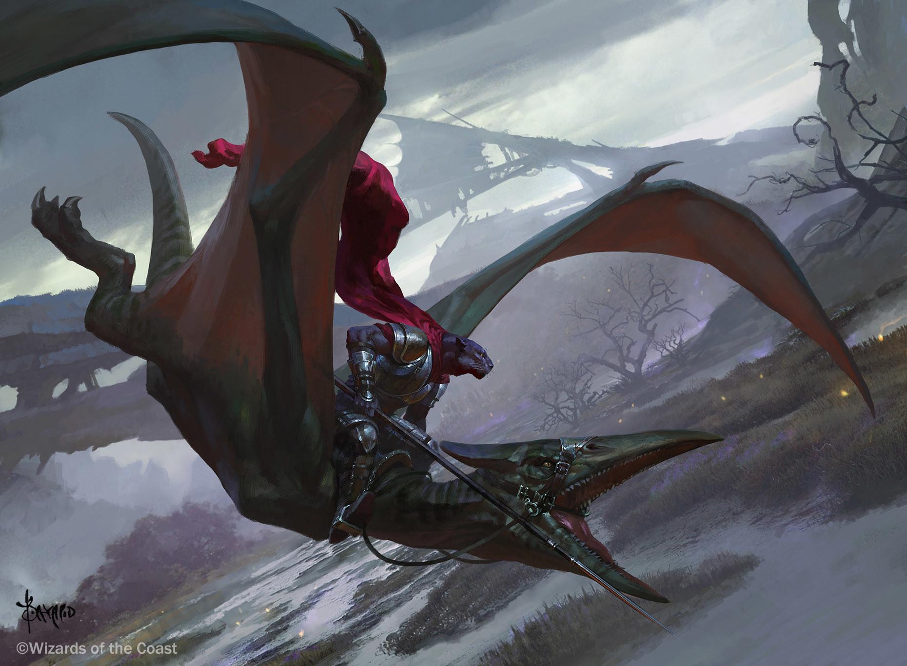 The Gorgeous Fantasy Art of Bayard Wu