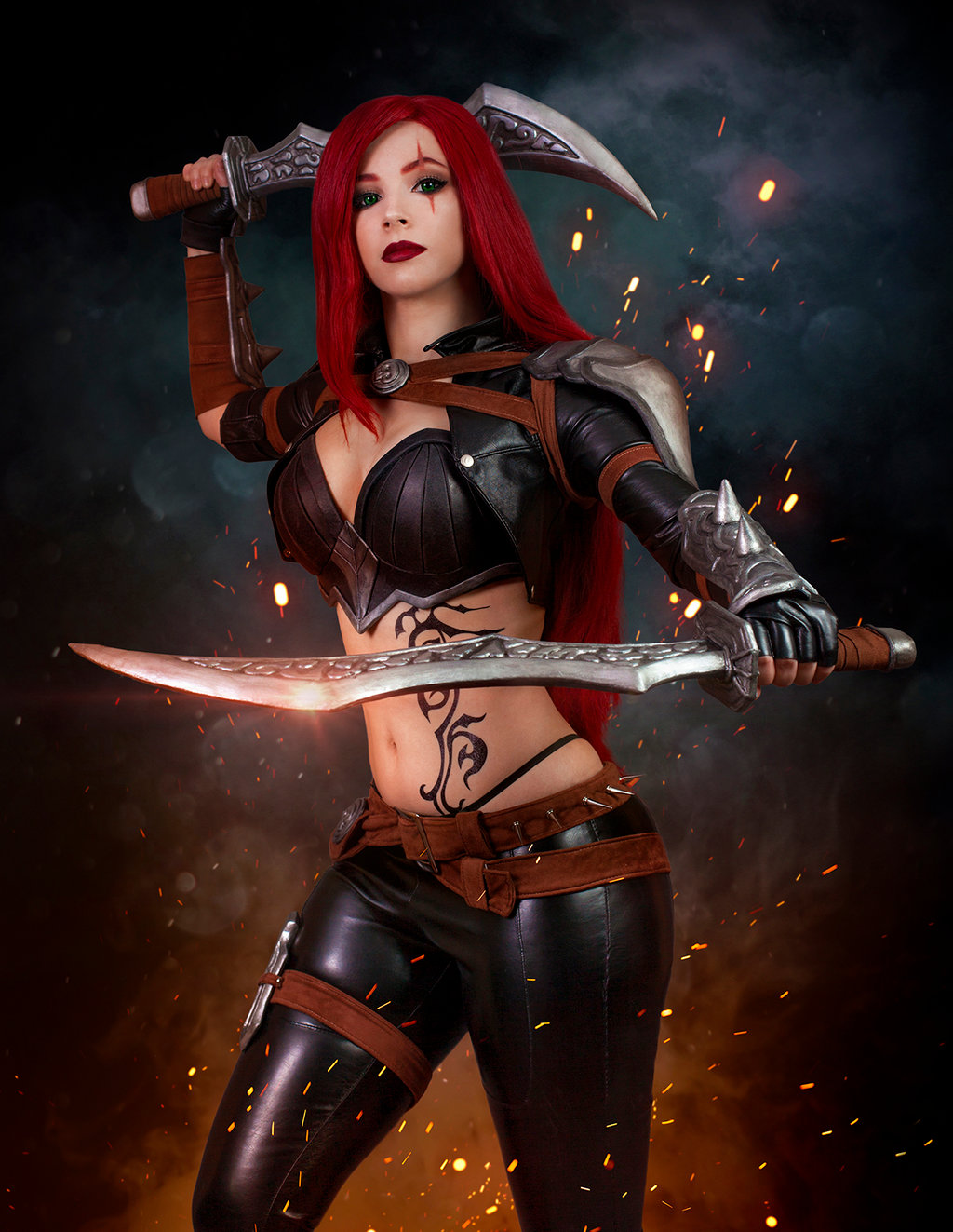 Amazing Katarina Cosplay by Enji Night