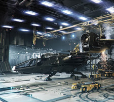 Star Citizen Sci-Fi Artworks by Gavin Rothery