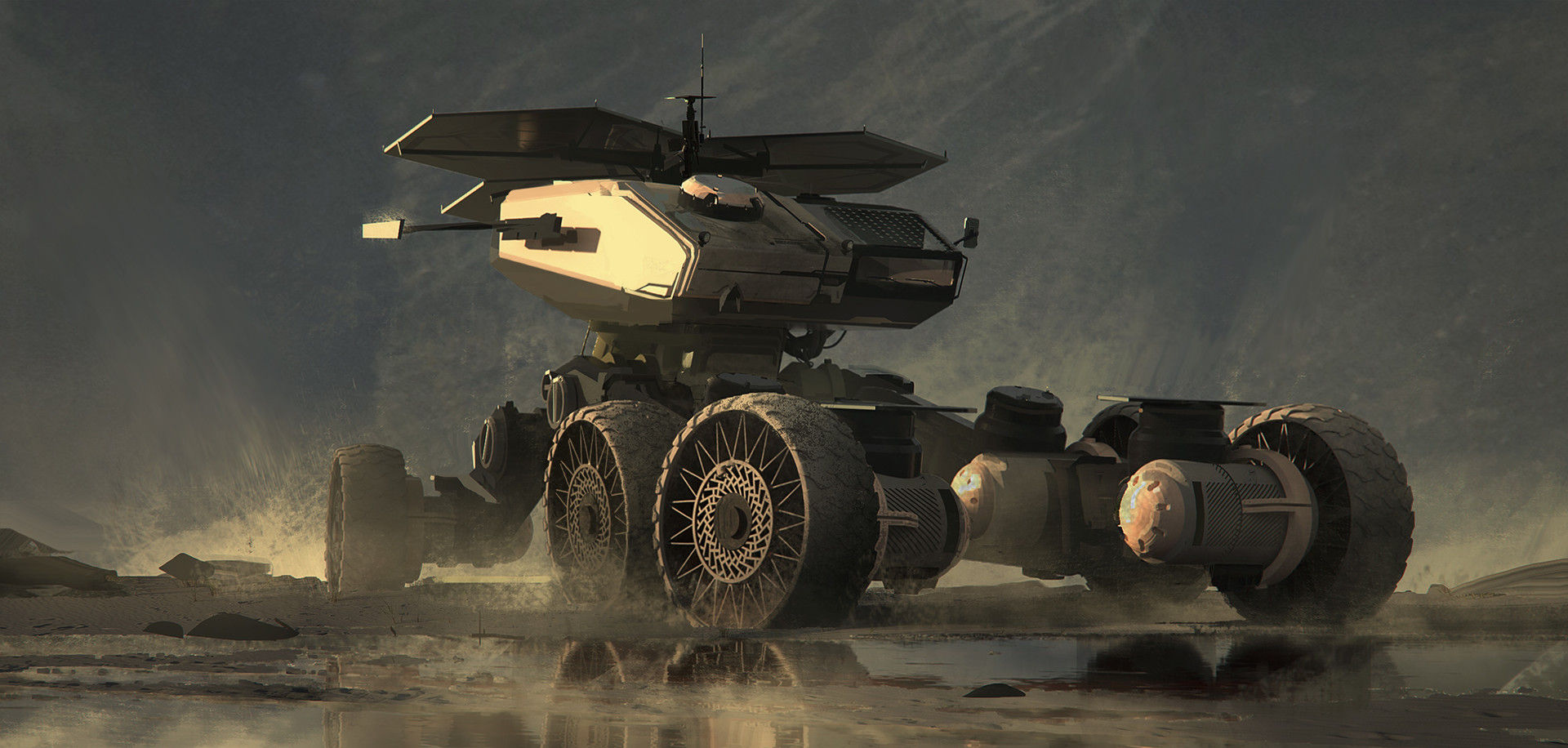 The Science Fiction Art of Christoph Stryczek