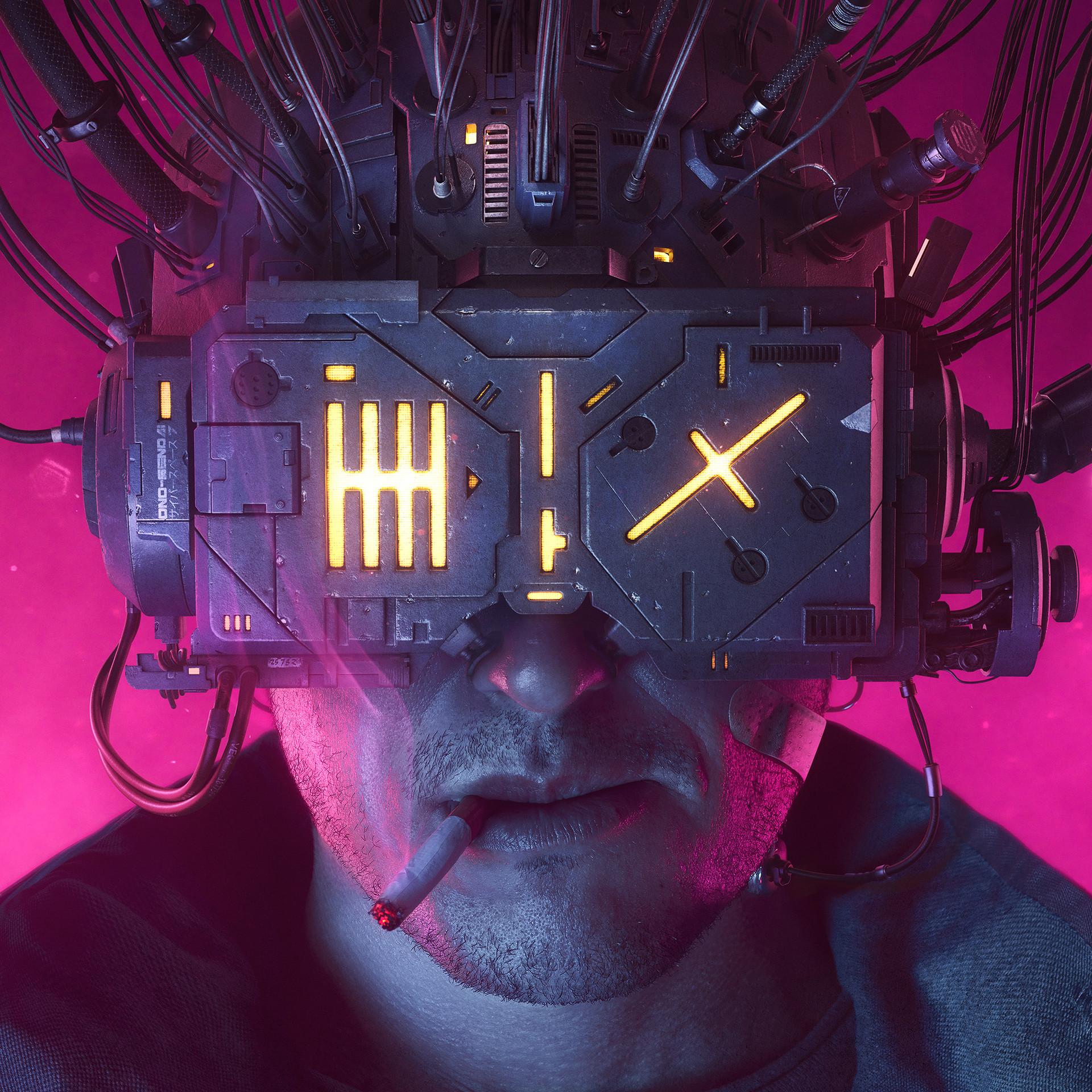 Awesome Neuromancer Artwork by Rafael Moco