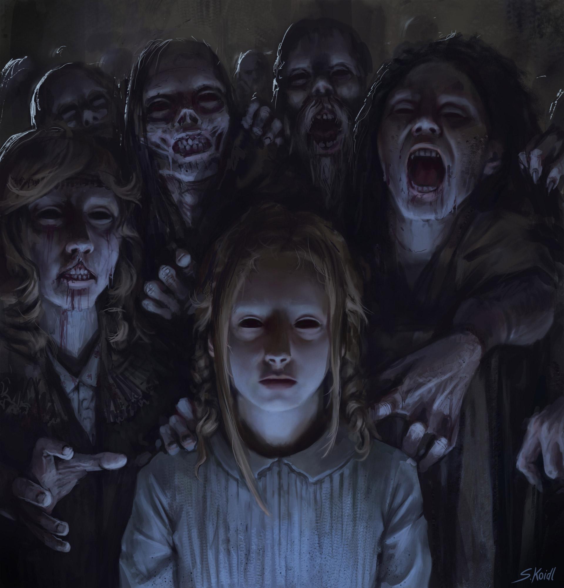 The Dark Fantasy Artworks of Stefan Koidl