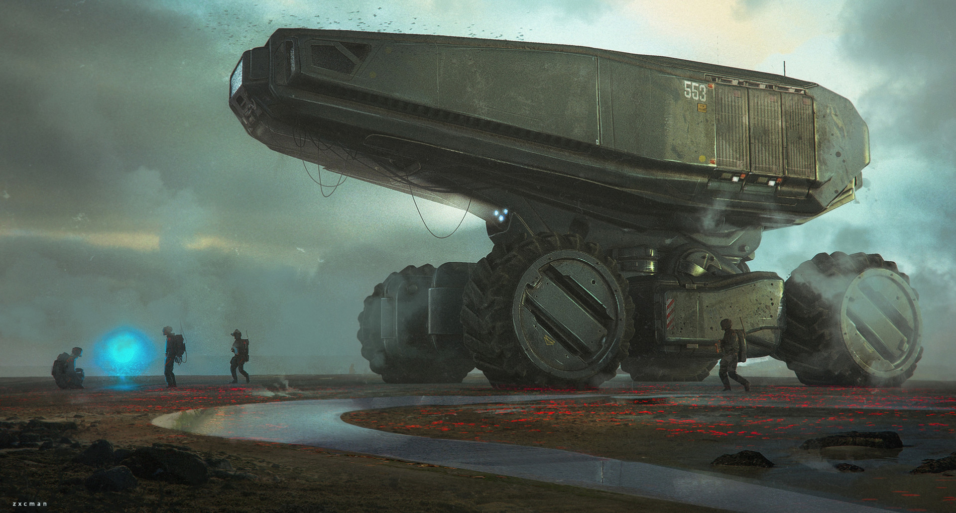 The Superb Sci-Fi Artworks of Dmitriy Rabochiy