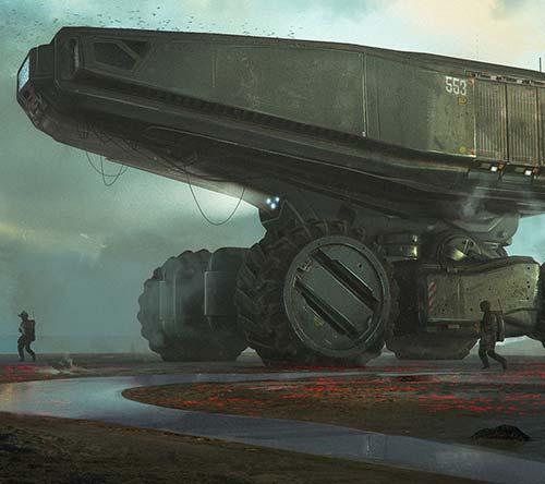 The Superb Sci-Fi Artworks of Dmitriy Rabochiy