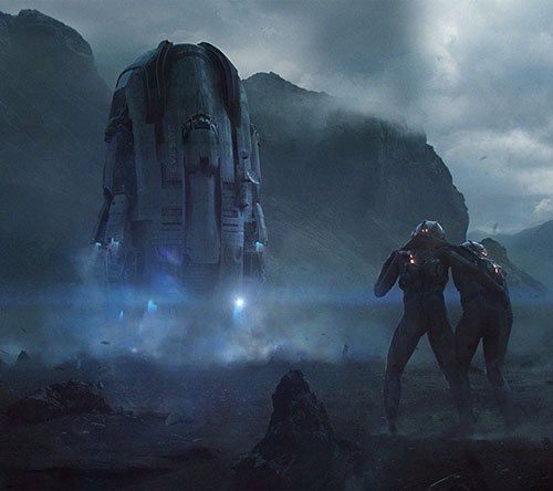 The Stunning Sci-Fi Art of Sergei Sarichev