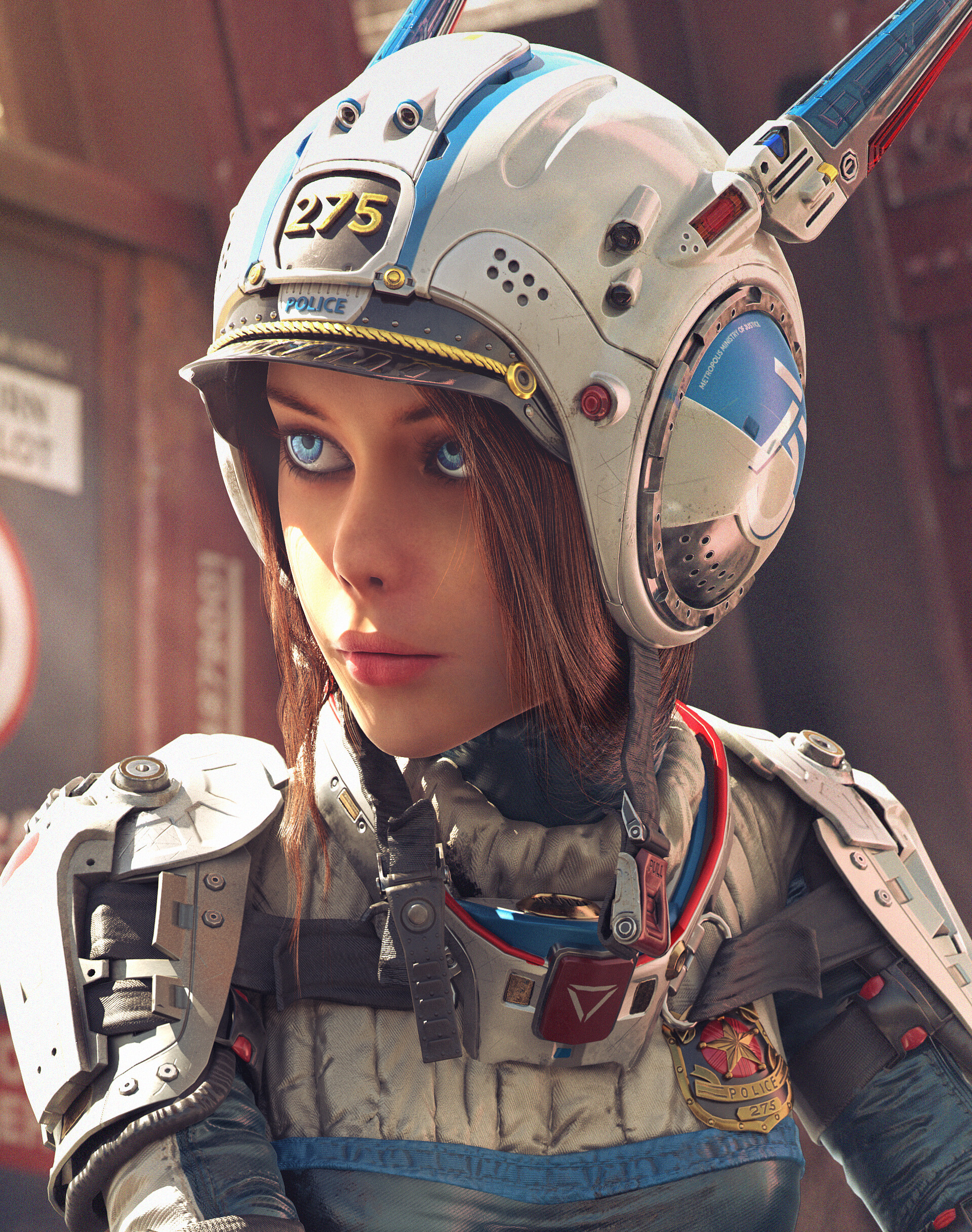 Amazing 3d Sci-Fi Artwork by Michael Black