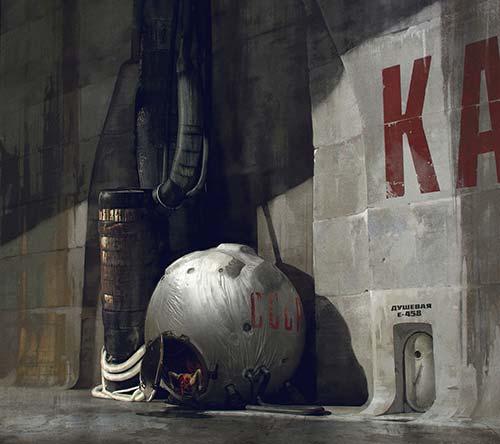 The Digital Sci-Fi & Fantasy Art of Mikhail Rakhmatullin