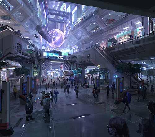 The Science Fiction Art of Chenxi Kang