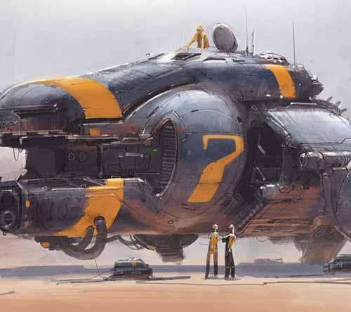 Sci-Fi Craft & Vehicle Design by Colie Wertz