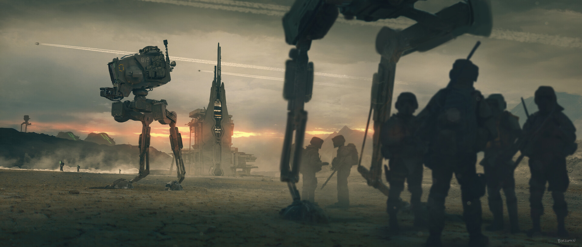 The Sci-Fi Concept Art of Nick Foreman