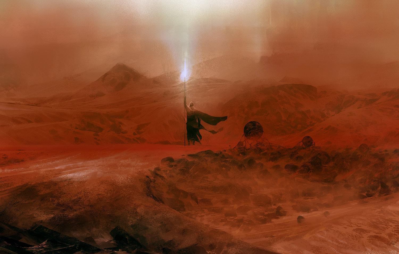 The Gorgeous Sci-Fi & Fantasy Artworks of Simon Goinard