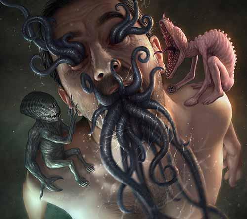 The Dark Fantasy Artworks of Martin de Diego