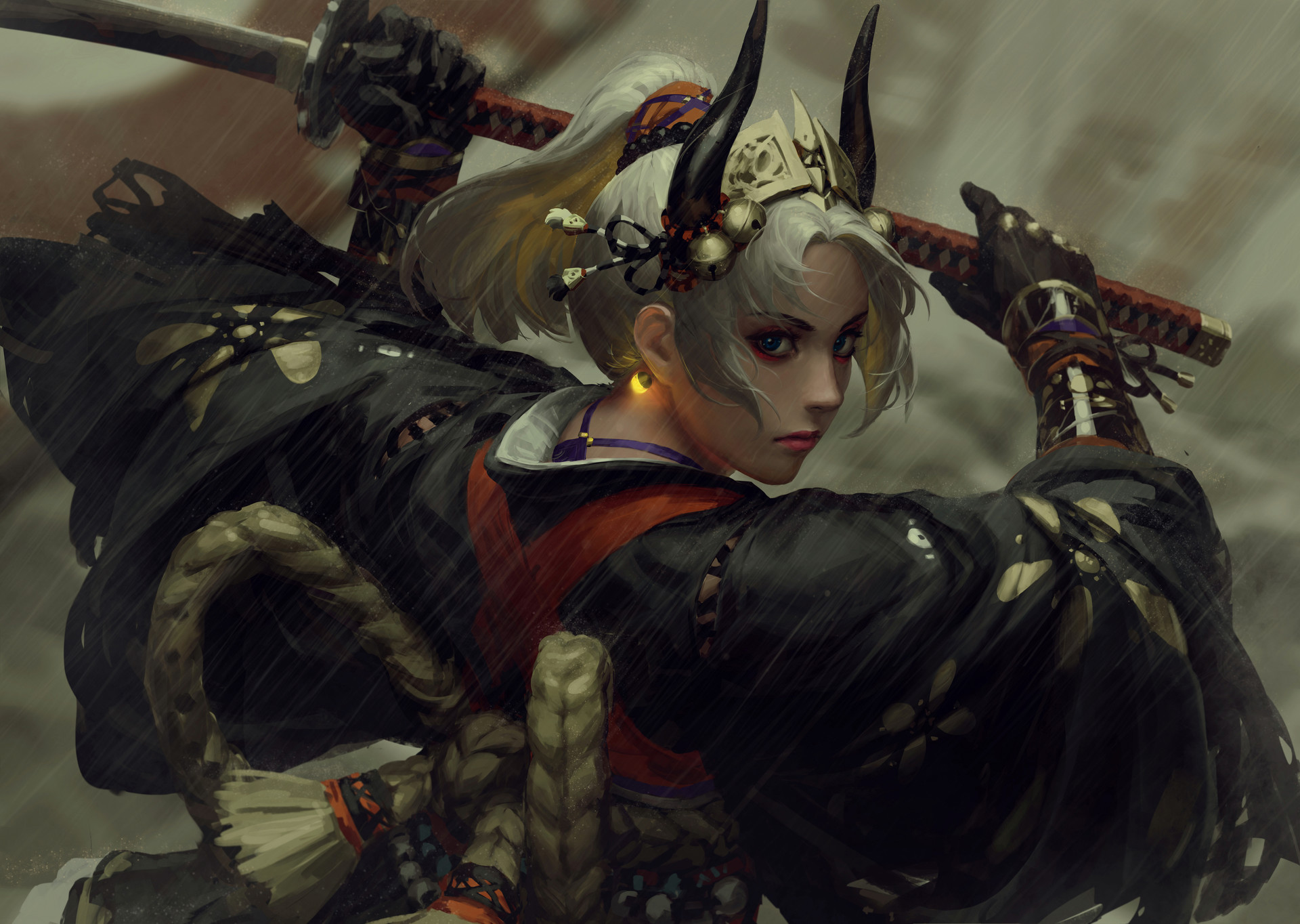The Glorious Fantasy Illustrations of Guweiz