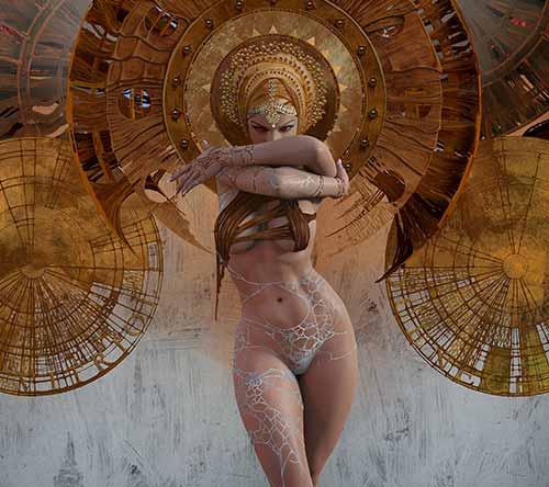The Digital Fantasy Art of Giorgos Tsolis